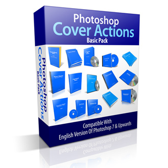 Photoshop Cover Actions Basic Pack