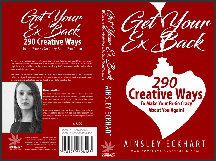 5 x 8 Paperback Book Cover Template